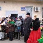 Благочинный Мелитополя посетил городское общество инвалидов.
