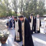 В Мелитополе почтили память погибших в дни второй мировой войны.