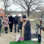 Заупокойная лития в память о  почившем протоиерее Леониде Сечине.